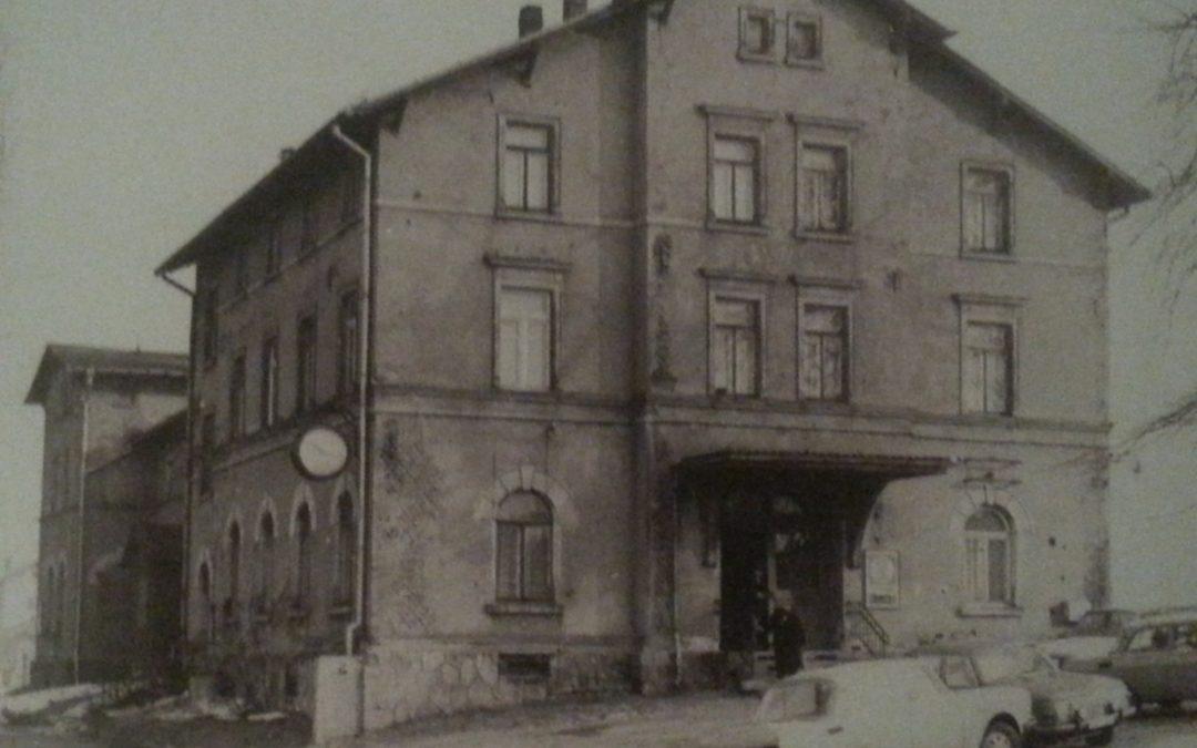 Lugauer Bahnhof im Wandel